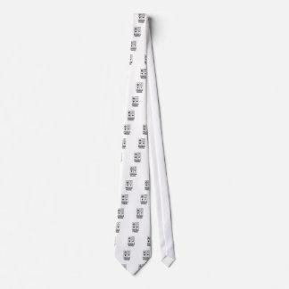Fragile Warning sticker Tie