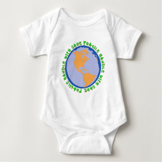 Fragile World Handle With Care Baby Bodysuit