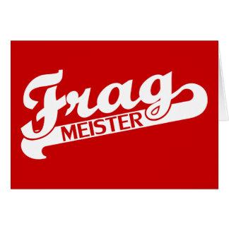 Fragmeister Tarjeta De Felicitación