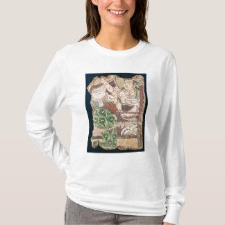 Fragment depicting a Buddhist paradise T-Shirt
