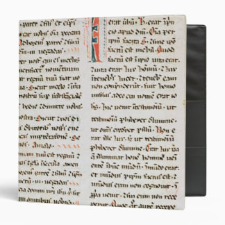 Fragment from a Cathar manuscript 3 Ring Binder