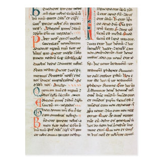 Fragment from a Cathar manuscript Post Cards