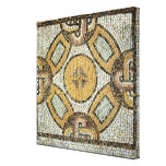 Fragment from the floor of the Roman Baths Canvas Print