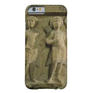 Fragment of a bas-relief plaque depicting two sold barely there iPhone 6 case