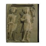 Fragment of a bas-relief plaque depicting two sold iPad folio covers