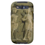 Fragment of a bas-relief plaque depicting two sold samsung galaxy SIII case