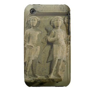 Fragment of a bas-relief plaque depicting two sold Case-Mate iPhone 3 case