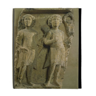 Fragment of a bas-relief plaque depicting two sold iPad case