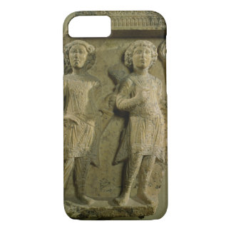 Fragment of a bas-relief plaque depicting two sold iPhone 7 case