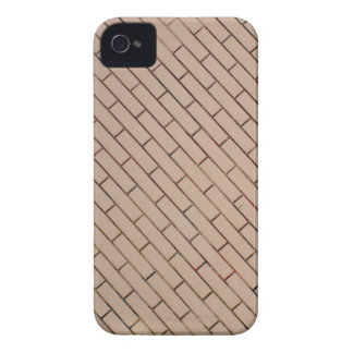 Fragment of a brick wall beige with diagonal image iPhone 4 case