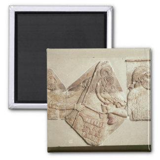 Fragment of a depicting Median tributaries Magnet