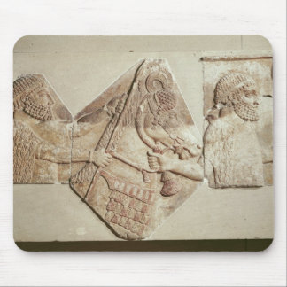 Fragment of a depicting Median tributaries Mouse Pad