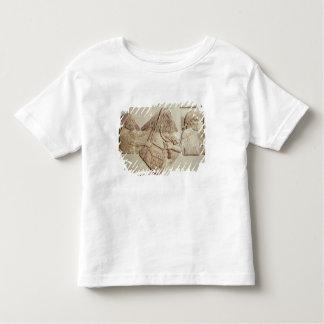 Fragment of a depicting Median tributaries Toddler T-shirt