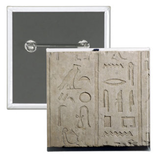 Fragment of a hieroglyphic inscription button