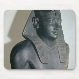 Fragment of an Egyptian style statue of Ptolemy I Mouse Pad