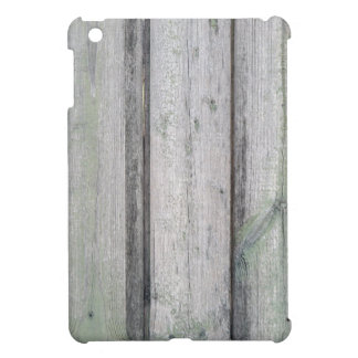Fragment of an old wooden fence iPad mini cover
