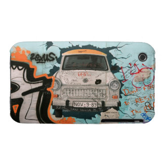 Fragment of Berlin wall Case-Mate iPhone 3 Case