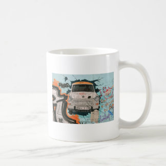 Fragment of Berlin wall Classic White Coffee Mug