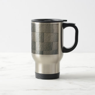 Fragment of decorative wall travel mug