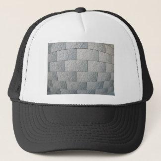 Fragment of decorative wall trucker hat