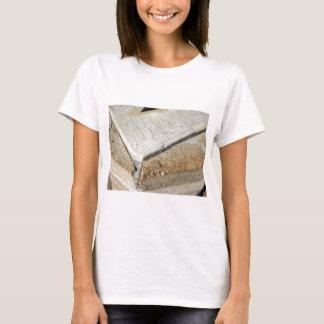 Fragment of old sundial clock face T-Shirt