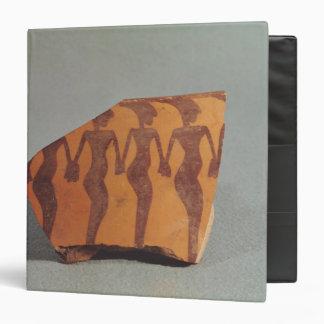 Fragment of pottery vinyl binders