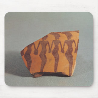 Fragment of pottery mouse pads