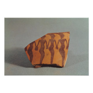 Fragment of pottery print