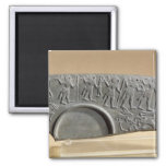 Fragment of the Hunters Palette 2 Inch Square Magnet