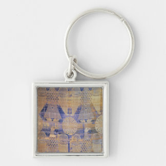 Fragment of the Shroud of St Germain Key Chains