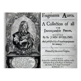 Fragmenta Aurea A Collection Postcard