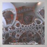 fragmentación por fraterchaos impresiones