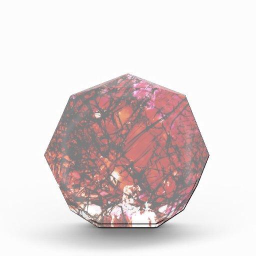 Fragmentalize - monocromo rojo