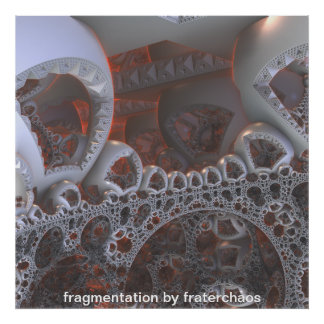 fragmentation by fraterchaos poster