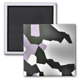 """Fragmented Dream"" Digital Abstract Art Magnet"