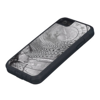 Fragmented Fractal Memories and Shattered Glass Case For iPhone SE/5/5s