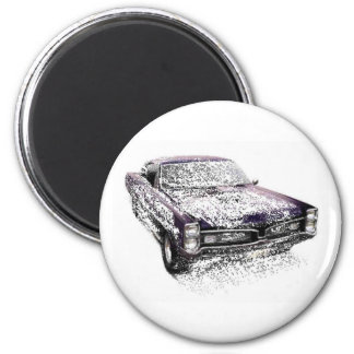 fragmented GTO 2 Inch Round Magnet