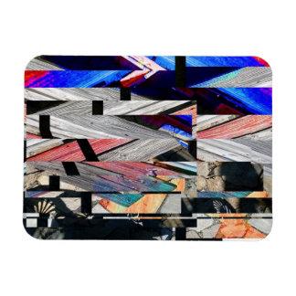 Fragmented Magnet