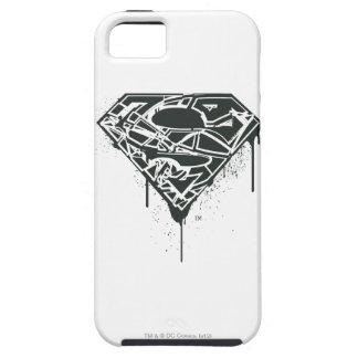 Fragmented Splatter Superman Logo iPhone 5 Case