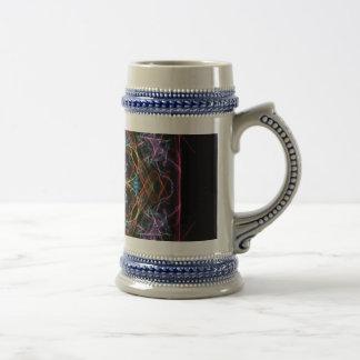 Fragmento cristalino tazas de café