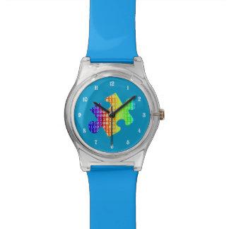 Fragmento de información relojes de pulsera