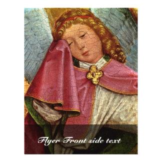 Fragmento de la crucifixión: Ángel triste por el V Tarjetón