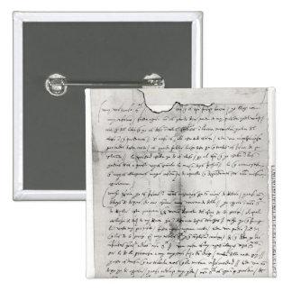 Fragmento de la letra escrito por Christopher Pin Cuadrada 5 Cm