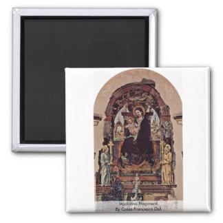 Fragmento de Madonna de Cossa Francisco Del Imán Cuadrado