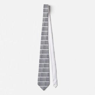 Fragmento de un primer de la pared de ladrillo con corbata