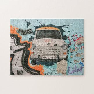 Fragmento del muro de Berlín Puzzle