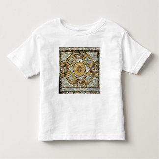 Fragmento del piso de los baños romanos playera de bebé