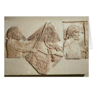 Fragmento del tributarios medianos de representaci tarjetas