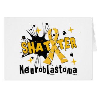 Fragmento Neuroblastoma Tarjeta De Felicitación