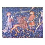Fragmento suizo de la tapicería de Schweizer Invitación 10,8 X 13,9 Cm